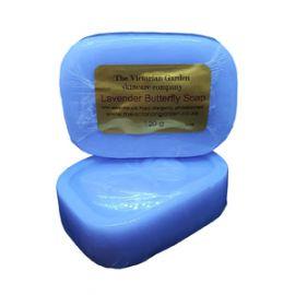 Victorian Garden Lavender Butterfly Soap