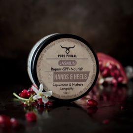 Pure Primal Hands & Heels Cream - Jasmine & Neroli