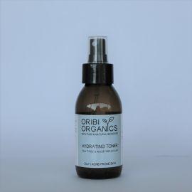 Oribi Organics Hydrating Toner Rose Geranium & Tea Tree