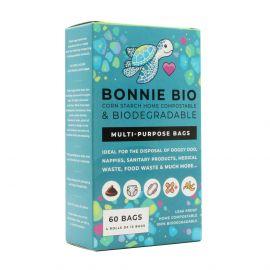 Bonnie Bio Multipurpose Bags -  4 Roll Box
