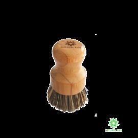 Natural Life Bamboo Pot Scrubbing Brush