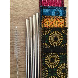 Sip Conscious Silver Straw Set