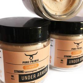 Pure Primal Under Armor Deodorant (Strong) - Lemongrass & Verbena